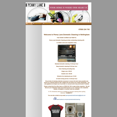 Penny Lane Domestic Cleaning