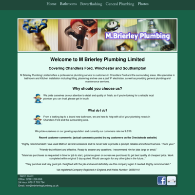 M Brierley Plumbing Limited