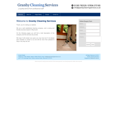 Granby Cleaning Services Ltd