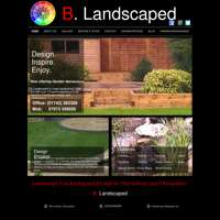 B. Landscaped