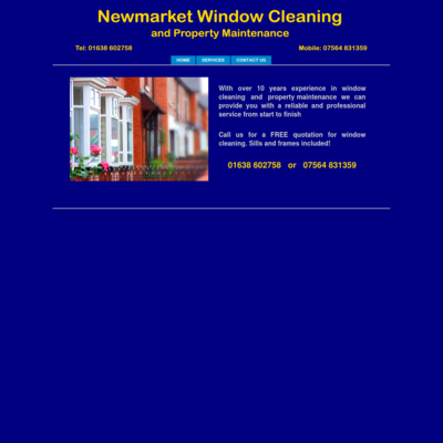 Newmarket window cleaning