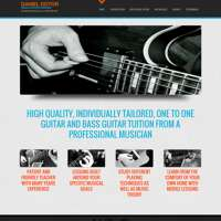 Daniel Dotor Guitar And Bass Guitar Lessons