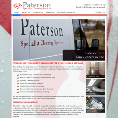 Paterson specialist cleaning services