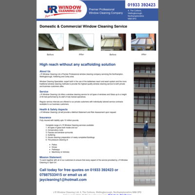 J.r window cleaning ltd