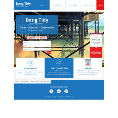 Bang Tidy Cleaning Services