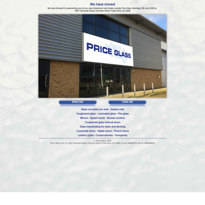 Price glass Ltd