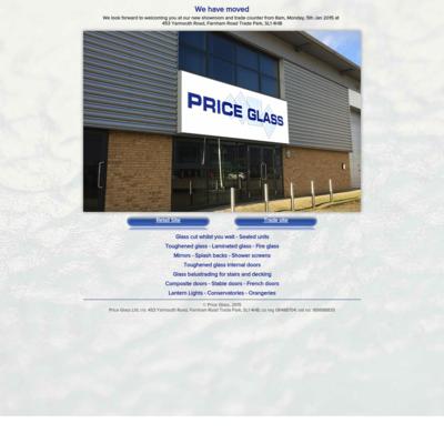 Price glass Ltd