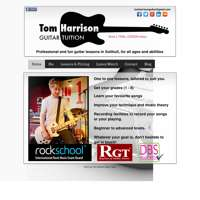 Tom Harrison Guitar Tuition