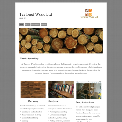 taylored wood ltd