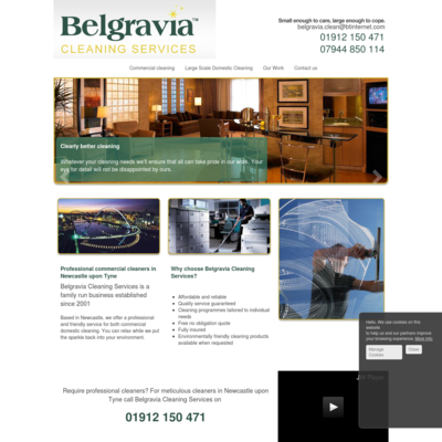 Belgravia cleaning.