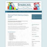 Diamond finish cleaning