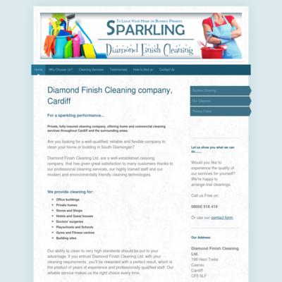 Diamond finish cleaning