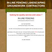 IN-LINE FENCING