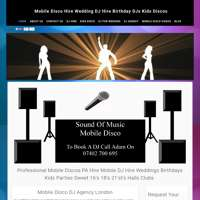 Sound Of Music Mobile Disco DJ Agency