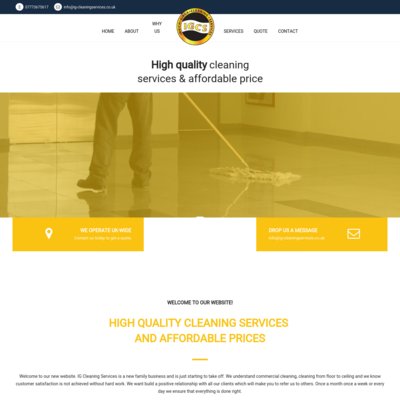 Ig-cleaning services