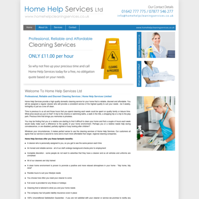 Home help services