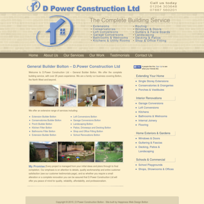 D Power Construction