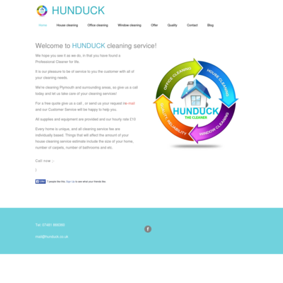HUNDUCK cleaning service