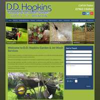 Dd Hopkins gardening - jet wash service