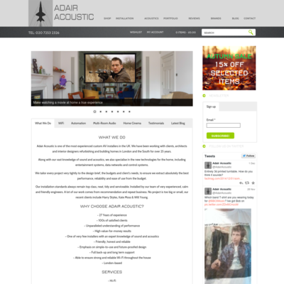 Adair Acosutic Design