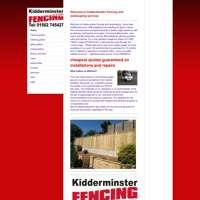 Kidderminster fencing