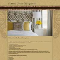 First Class Domestic Cleaning Services
