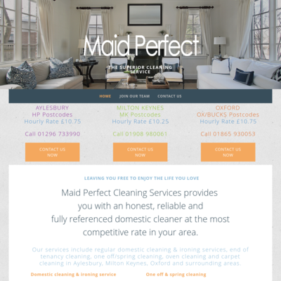 Maid Perfect Ltd