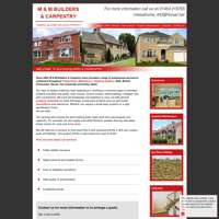 M and M Builders and Carpentry