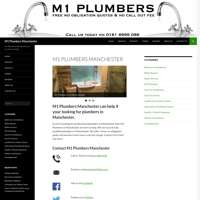 M1 plumbers Manchester
