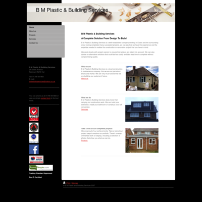 B m plastic & building services
