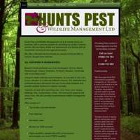 Hunts pest and wildlife management  ltd