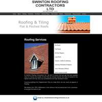 Swinton roofing contractors