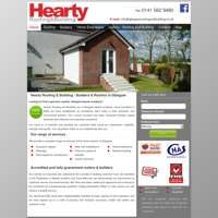 hearty roofing and building ltd