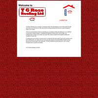 T.G.Rose.Roofing ltd