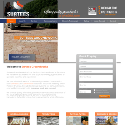 Surtees Groundwork Contractors Ltd