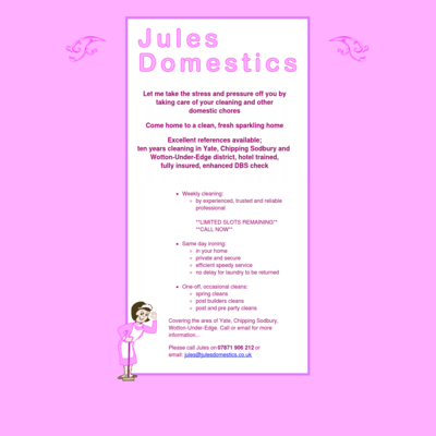 Jules Domestics