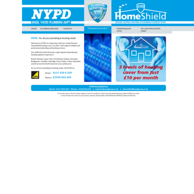 NYPD (Nigel Yates Plumbing Department)