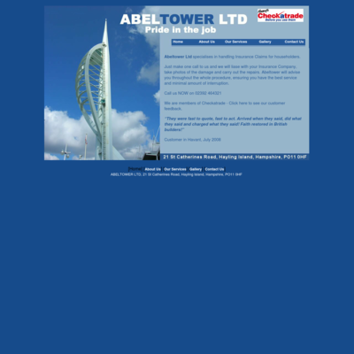 ABELTOWER LTD;