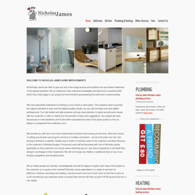 Nicholas James home improvements LTD