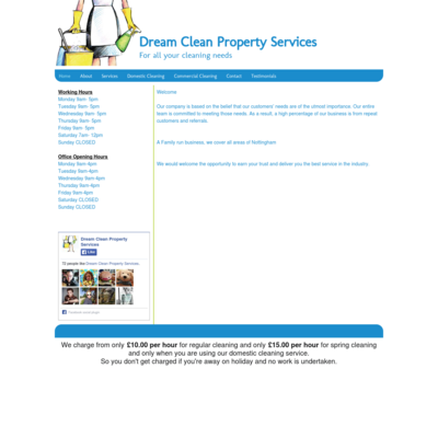 Dream Clean Property Services