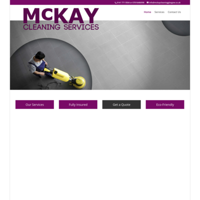 McKay cleaning services