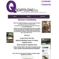 Q Scaffolding Ltd