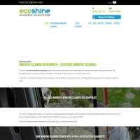 ecoshine window cleaning