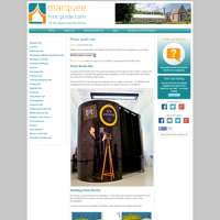 Marquee Hire Guide - Photo Booth Department