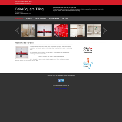 Fair and square tiling