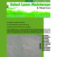 Select lawn maintenance