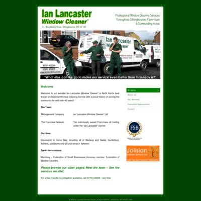 Ian Lancaster Window Cleaner Ltd