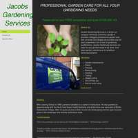 Jacobs gardening services