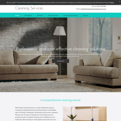 Whitechapel cleaning services