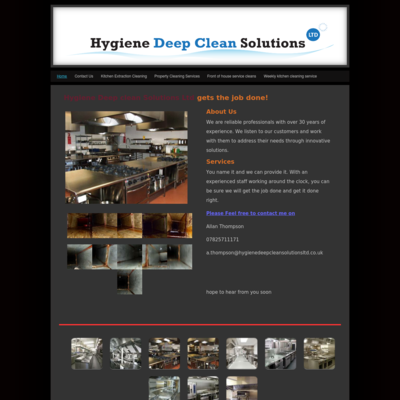 Hygiene Deep Clean Solutions Ltd